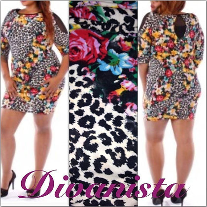 Safari/Flower Dress