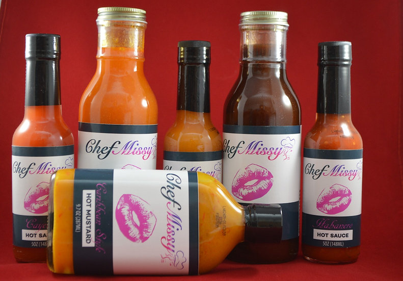 Chef Missy 6 Sauce Variety Pack