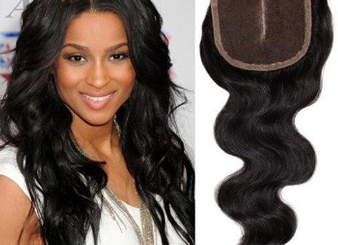 4x4 MIDDLE PART LACE CLOSURE