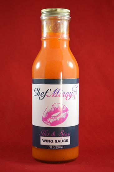 Chef Missy Hot & Spicy Wing Sauce