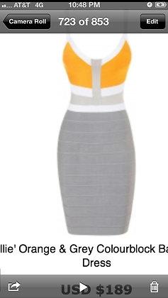 Orange & Grey Bandage