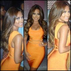 Orange Rhine Dress