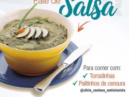 Receita do Dia - Patê de Salsa
