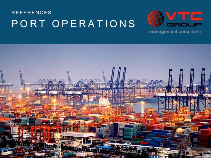 Port operations - Lean Management