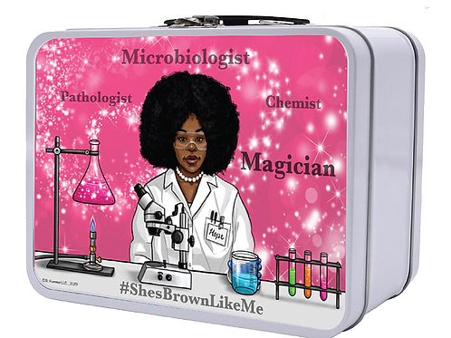 Microbiologist Retro Lunchbox (Smaller)