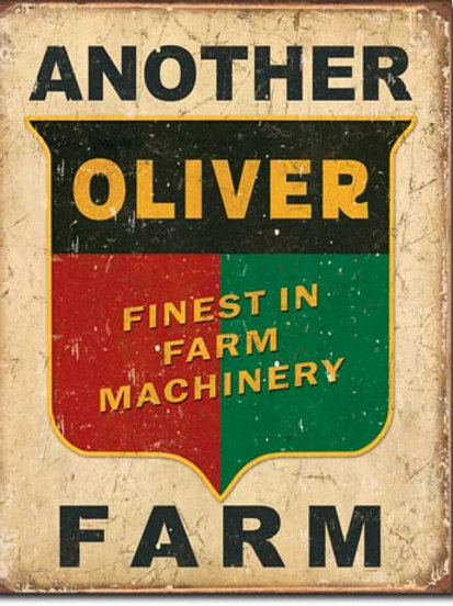 Another Oliver Farm Metal Sign #1775
