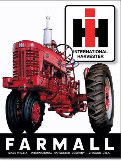 Farmall 400 Metal Sign #839