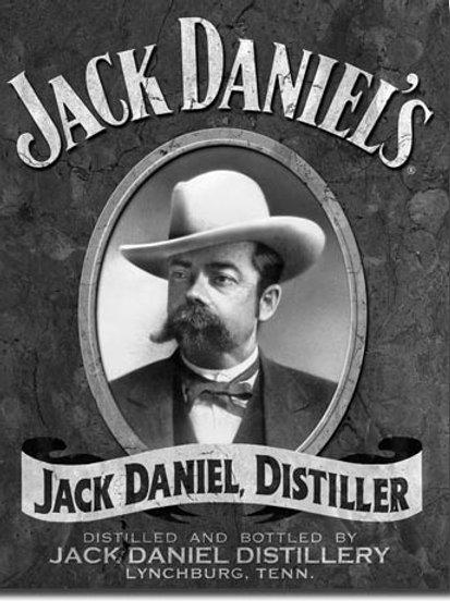 Jack Daniel's Portrait Metal Sign #1622
