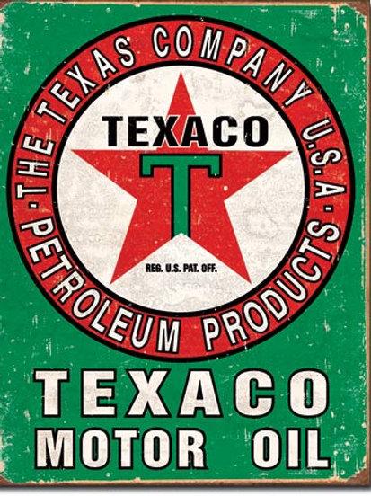 Texaco Oil Metal Sign #1927