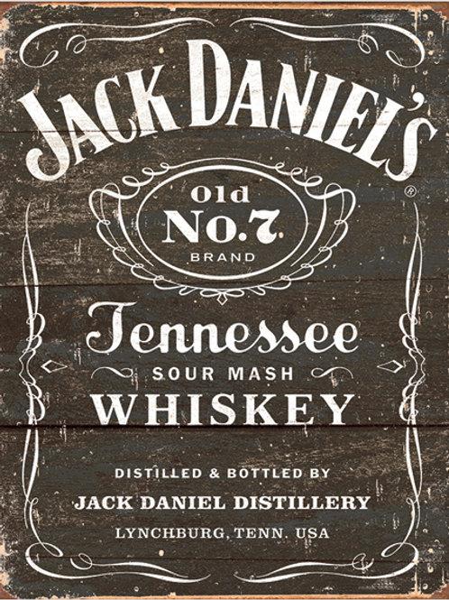 Jack Daniel's Logo Metal Sign #1916