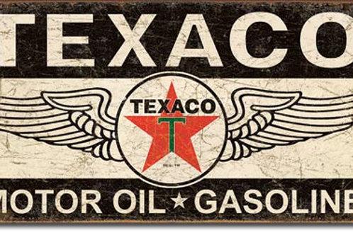 Texaco Winged Logo Metal Sign #1896