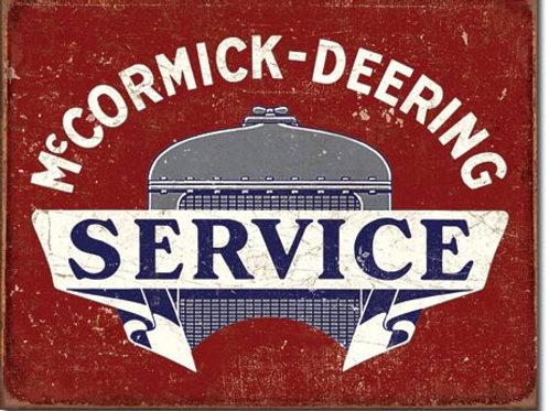 McCormick Deering Service Metal Sign #2170