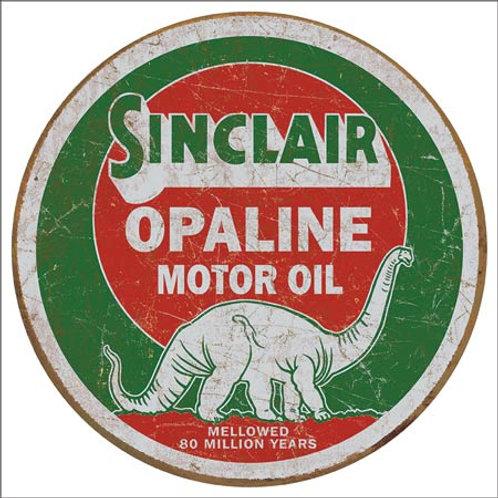 Sinclair Opaline Metal Sign #2047