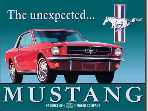 Ford Mustang Metal Sign #579