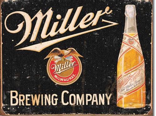 Miller Brewing Metal Sign #1649