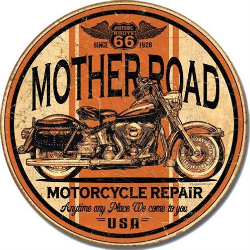 Mother Road Repair Metal Sign #1697