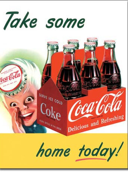 COKE - Sprite Boy Tame Home Metal Sign #1050
