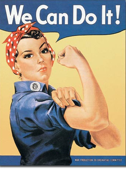 Rosie The Rivetor Metal Sign #796