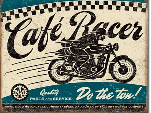 Cafe Racer Metal Sign #2033
