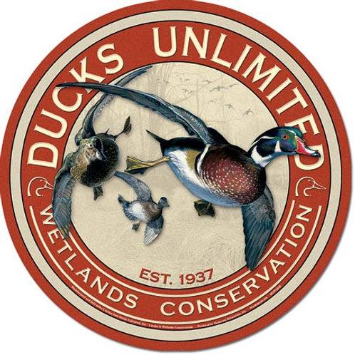 Ducks Unlimited Metal Sign #1900