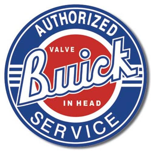 Buick Service Metal Sign #185
