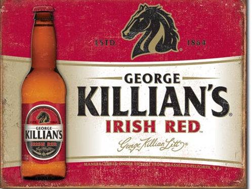 Killian's Red Metal Sign #2072