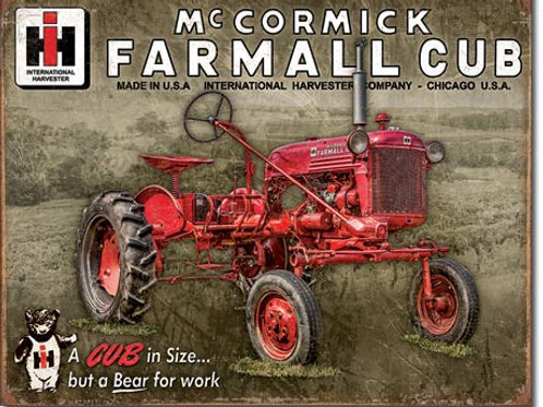 Farmall Club Metal Sign #2132