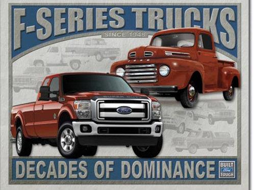 Ford - F Series Trucks Metal Sign #1708