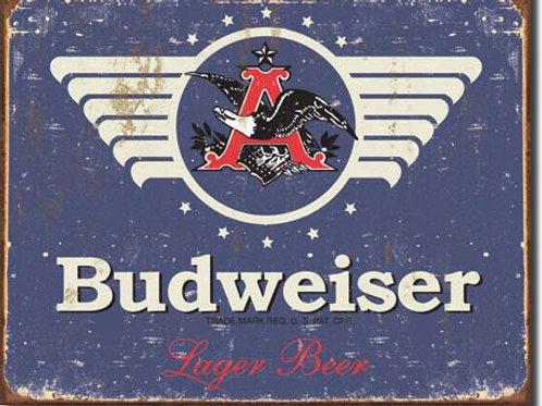 Budweiser 1936 Logo Metal Sign #1383