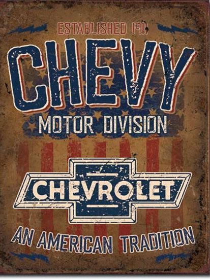 Chevy - American Tradition Metal Sign #2204