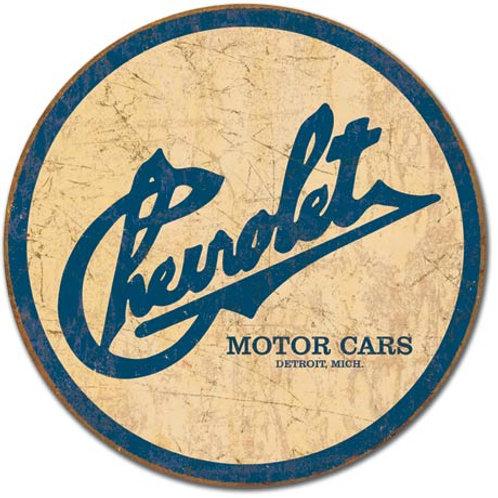 Chevy Historic Logo Metal Sign #1796