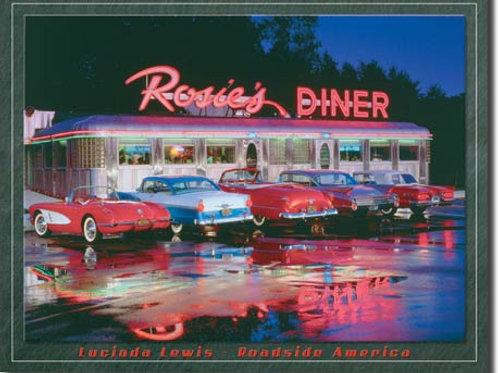 Rosie's Diner Metal Sign #1128