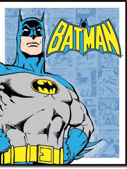 Batman Retro Panels Metal Sign #1401