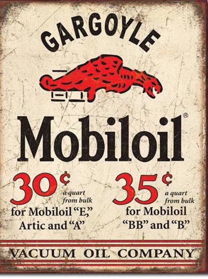 Mobil Gargoyle Metal Sign #1897