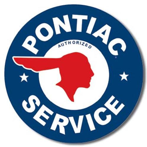 Pontiac Service Metal Sign #184