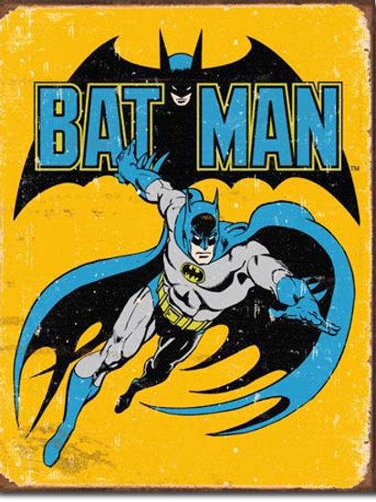Batman - Retro Metal Sign #1357