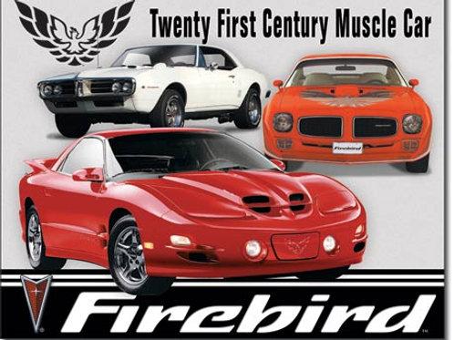 Pontiac Firebird Tribute Metal Sign #1770