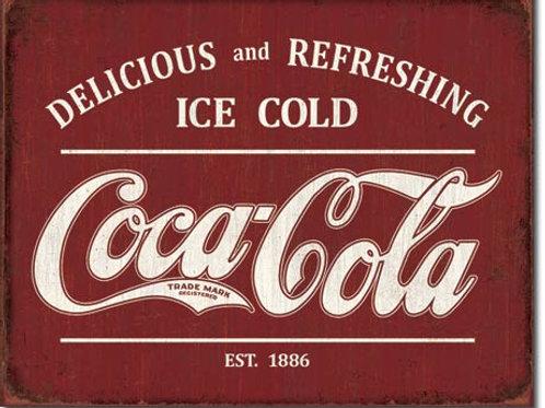 COKE - Est 1886 Metal Sign #2311