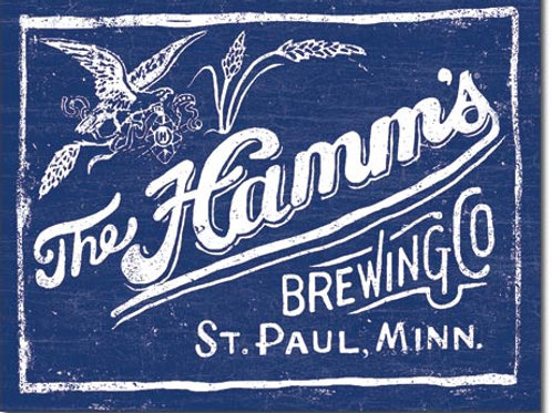 Hamm's Brewing Metal Sign #2305