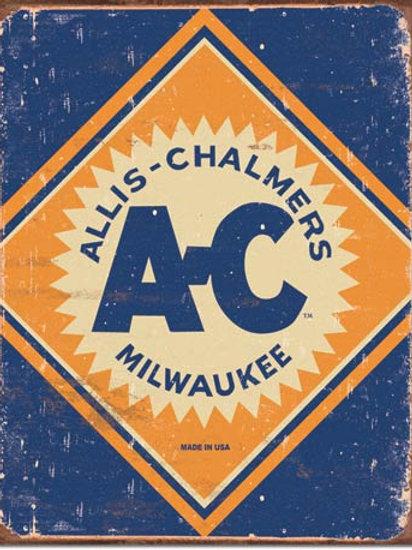 Allis - Chalmers Milwaukee Metal Sign #1503
