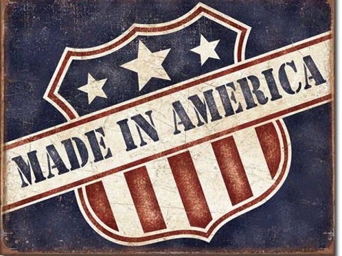 Made in America Metal Sign #2119