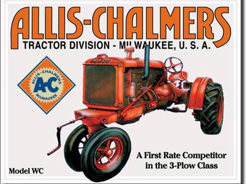 Allis Chalmers - Model U Metal Sign #1133