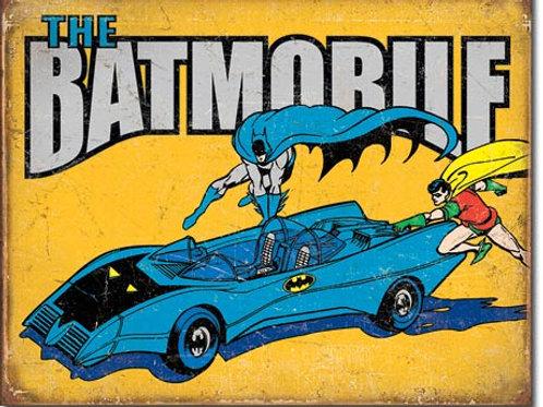 Batman - The Batmobile Metal Sign #2028