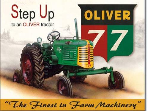 Oliver - 77 Metal Sign #1861