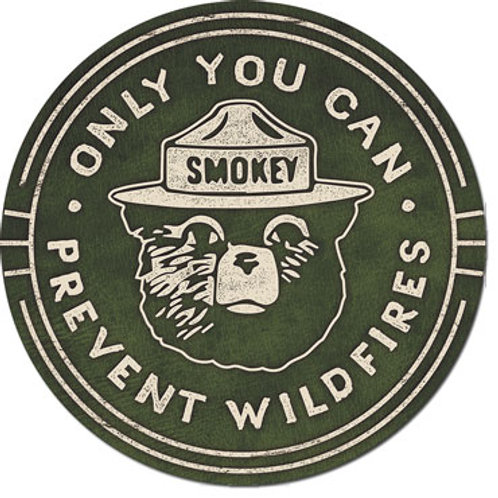 Smokey Bear Metal Sign #2387