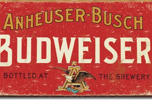 Budweiser Metal Sign #1283