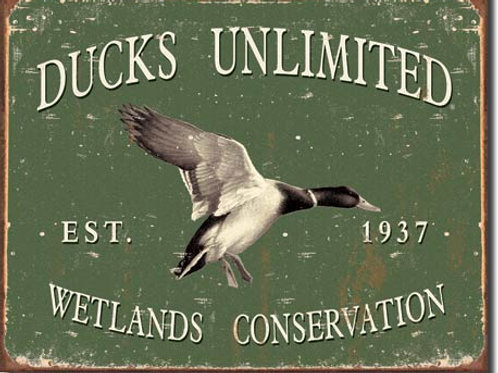 Ducks Unlimited Metal Sign #1388