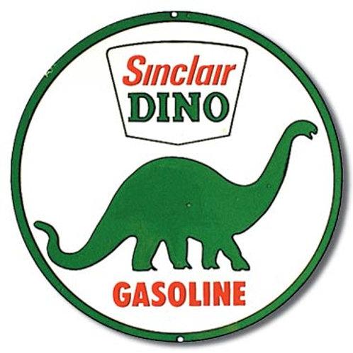 Sinclair Dino Gasoline Metal Sign #207