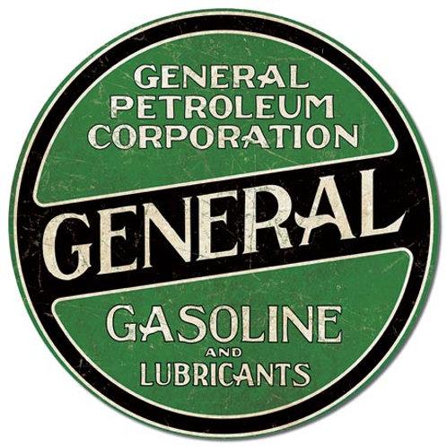 General Gasoline Metal Sign #2246