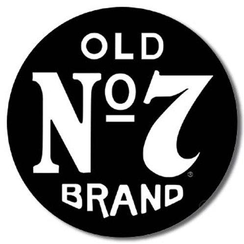 Jack Daniel's Old #7 Metal Sign #1312